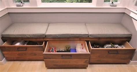 built in storage bench with drawers modern bench drawers custom built in bench seating area