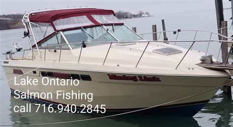 fishing boat ontario lake ontario lake erie guided fishing charters 1st