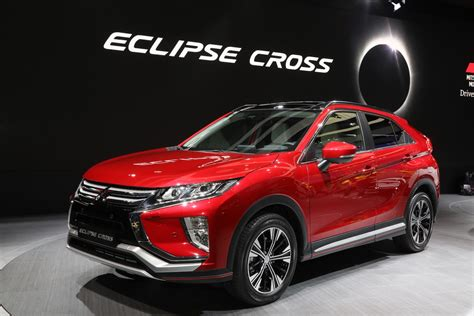 mitsubishi eclipse mitsubishi eclipse cross revealed with turbo 1 5l