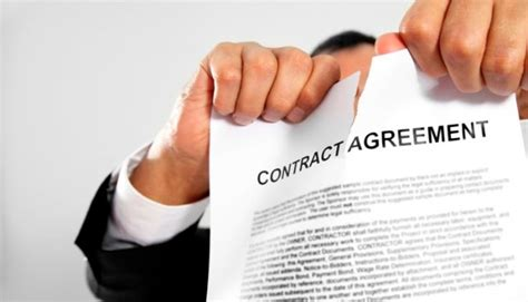 contract breach types and how startups can report