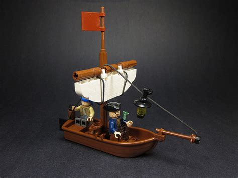 small boat on a pirate ship small sail boat pirate mocs eurobricks forums