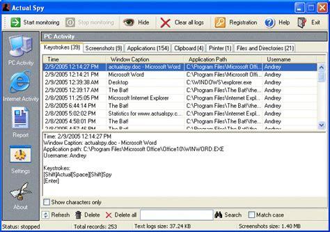 spy keylogger full version free download e hacking4all eh4a actual spy keylogger full version