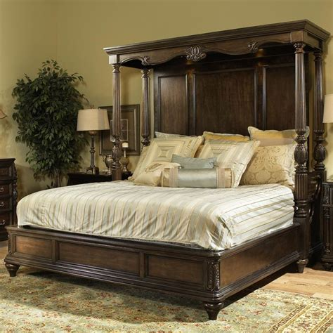Furniture Canopy Bed by Chateau Marmont King Canopy Bed By Fairmont Designs
