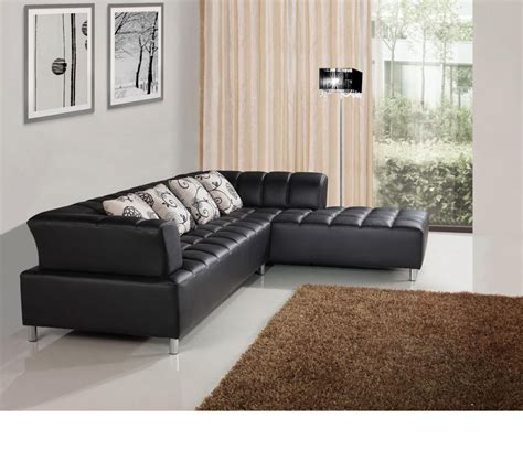 bonded leather sectional dreamfurniture com 2235 modern bonded leather