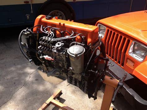 Jeep Cj5 Diesel Conversion Om617 96 Jeep Build Thread Page 7 Diesel Bombers