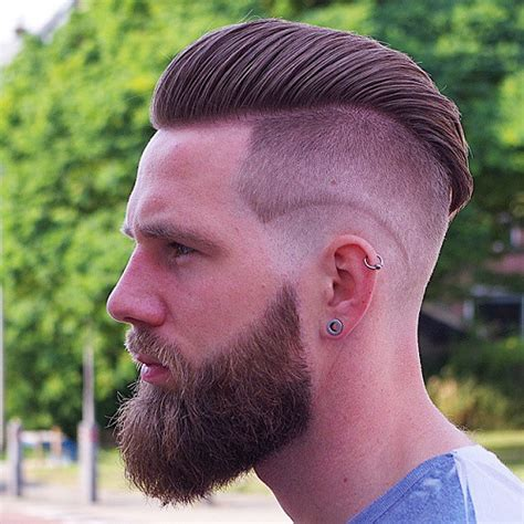 beard length vs hair length 2016 men s mid length undercut hairstyles men s