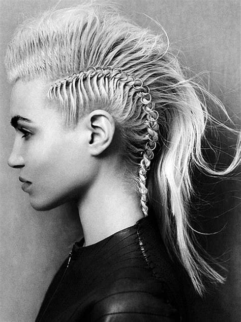 ai rocker with hair on his head 56 punk hairstyles to help you stand out from the crowd