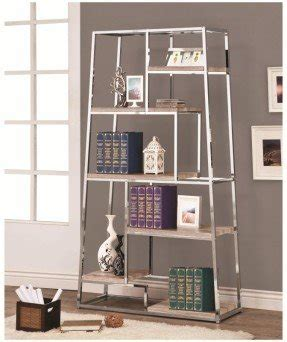 chrome and glass bookcase chrome bookcases foter