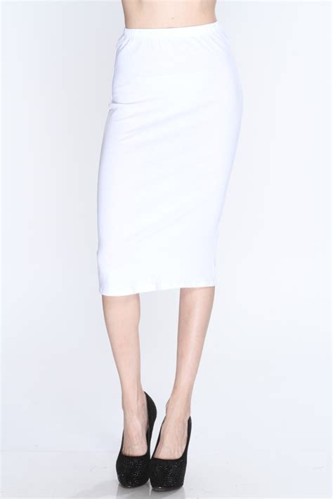 white high waisted pencil skirt www pixshark