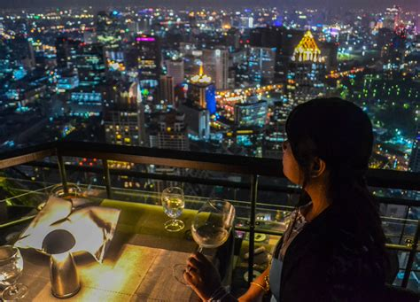 bangkok top bars vertigo rooftop restaurant at the banyan tree bangkok