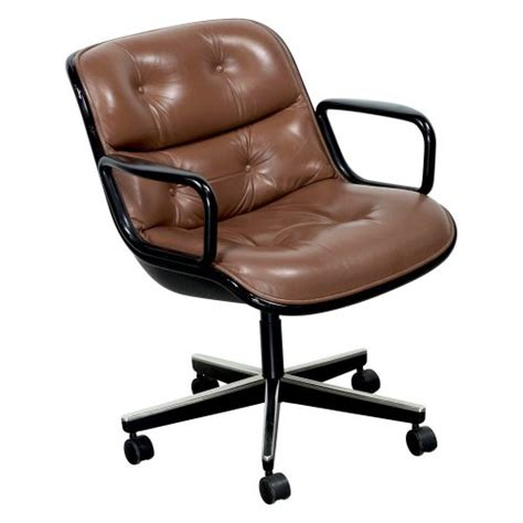 knoll pollock chair knoll pollock executive leather used chair