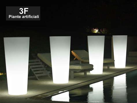 vasi luminosi economici vaso luminoso ilie cm 100 3f piante artificiali