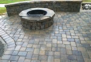 pavestone pit patio pavestone patio home interior design