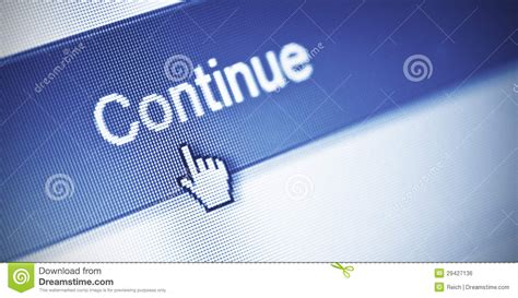continue button royalty  stock image image