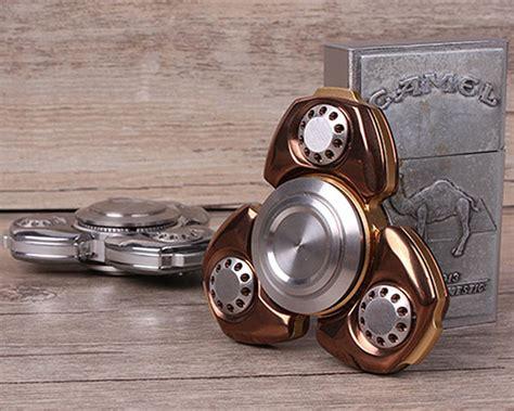 Ab Edc Dual Brass Fidget Spinner Torqbar Anti Stress Bosan 50 cool metal fidget spinner toys must for design office