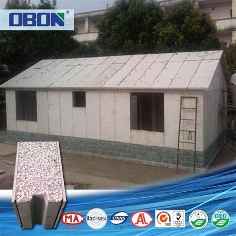 Beton Fertighaus by Obon Low Cost Hausbau Material Polystyrol Beton Sandwich