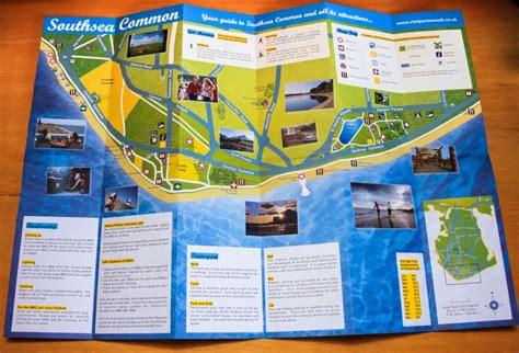 Leaflet Design Portsmouth | design of southsea common leaflet for portsmouth city