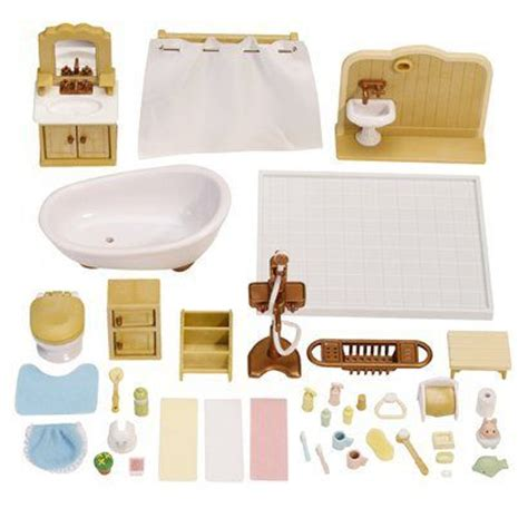calico critters bathroom set 41 best calico critters images on pinterest sylvanian
