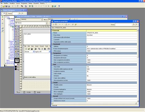 layout editor in oracle forms how can i integrate the html editor in oracle forms