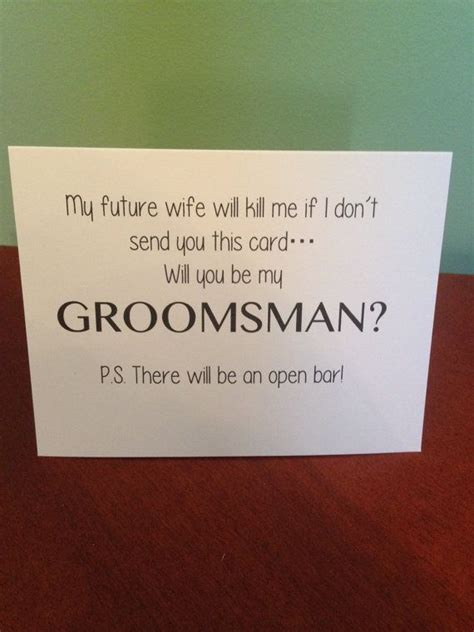 how to ask to be my will you be my groomsman card wedding boys and deer