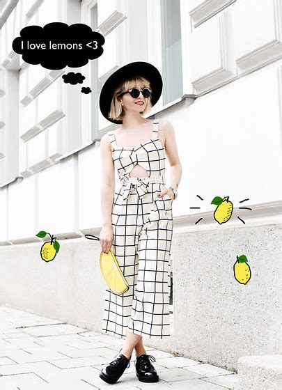 Grid Overall esra e asos grid overall asos boots new look lemon clutch grid overall lookbook
