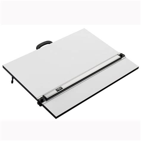 Portable Drafting Table Portable Drawing Board With Aluminum Parallel Straightedge Pxb 18 In L X