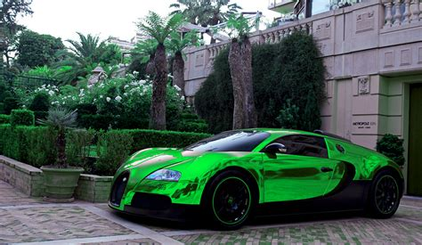 green bugatti 中華車庫 china garage we just cars green bugatti veyron