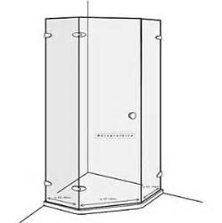 dusche 5 eckig original duscholux duschkabine sicherheitsglas 5 eckig