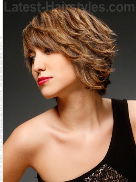 chin length layered haircuts
