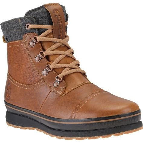 mens insulated waterproof boots timberland earthkeepers schazzberg mid waterproof