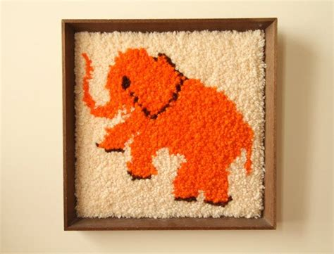 Elephant Rug Kit by 17 Best Images About My Hobbies Latch Hook Reading