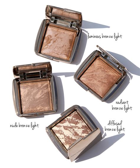 hourglass ambient lighting bronzer diffused bronze light hourglass ambient strobe lighting blush and bronzer