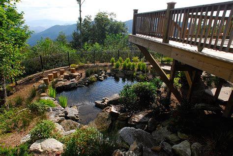 Landscape Architecture Asheville Nc Wolf Laurel Landscape Design By Gardens For Living