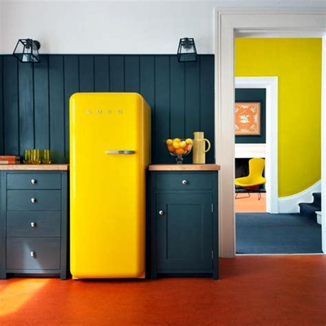 colored refrigerators colored refrigerators for a vintage kitchen decor