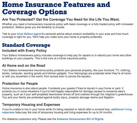 home insurance plans top 26 reviews and complaints about safeco homeowners