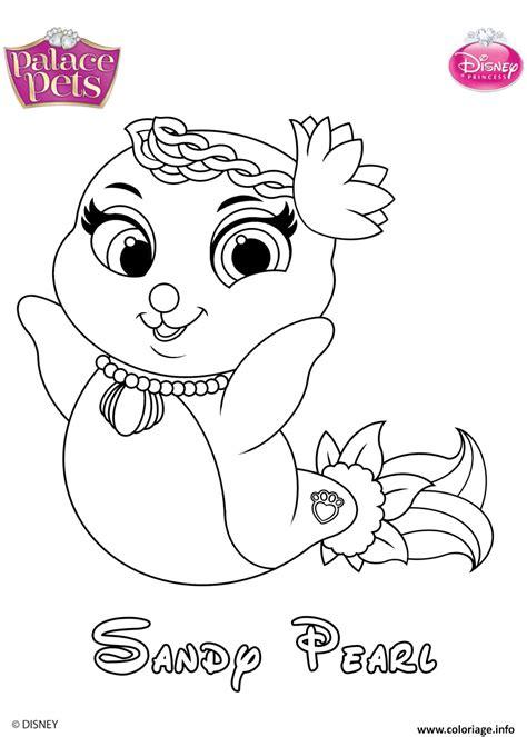 Coloriage Sandy Pearl Princess Disney Dessin Jeux Coloriage Princesse Disney L