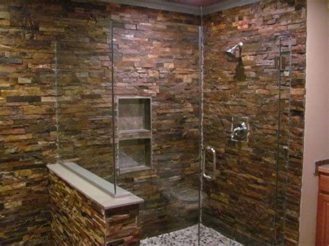 How to Create a Faux Stone Shower?   Faux Direct