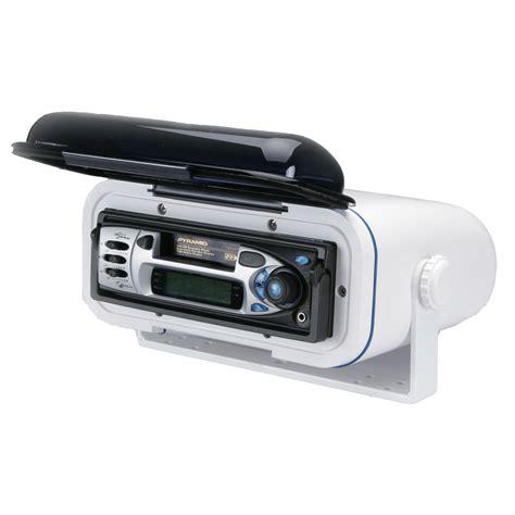 boat radio with speakers poly planar wc400 marine boat waterproof stereo radio