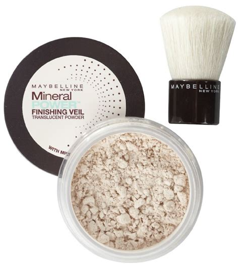 Maybelline Powder maybelline mineral power finishing veil translucent