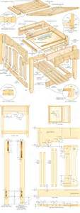 » mission style end table woodworking planspdfwoodplans