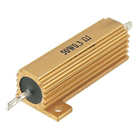 resistor value power h1 2 pcs 50 watt power 5 0 3 ohm resistance value aluminum resistors ebay