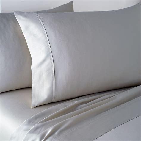 buy dkny plain dye fitted sheet platinum amara