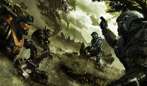 imagenes de halo iconic sci fi art from alex chin yu chu