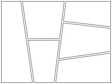 Flower2fruit Creating Simple Frames For Comic Strips Comic Frame Template