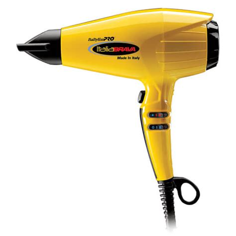 Babyliss Pro Hair Dryer Yellow babyliss pro italiabrava professional hair dryer