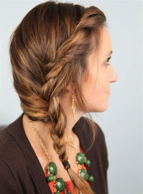 Hairstyles With Braids On The Side 20 stylish side braid hairstyles for hair