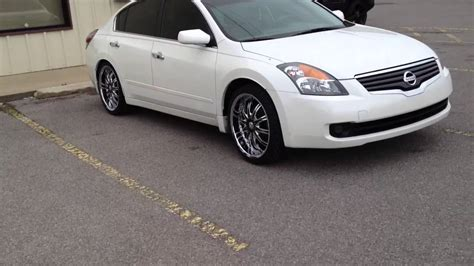 nissan altima white with black rims 2009 nissan altima vct 20 inch wheels creative wholesale