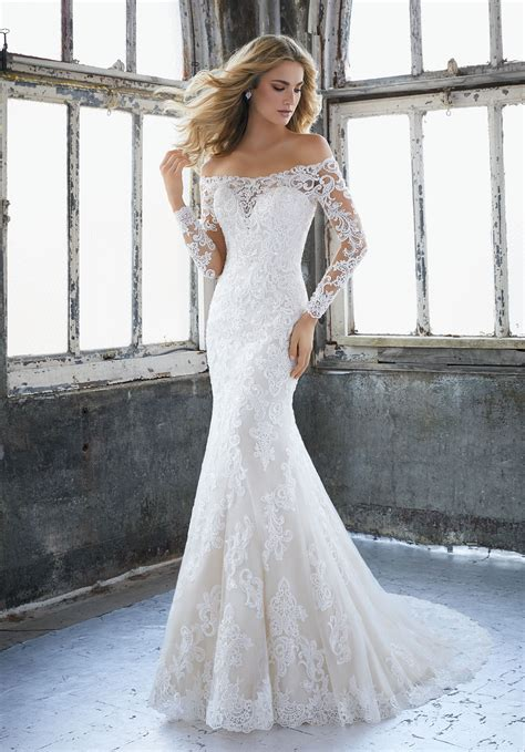 Wedding Style Dress by Karlee Wedding Dress Style 8207 Morilee