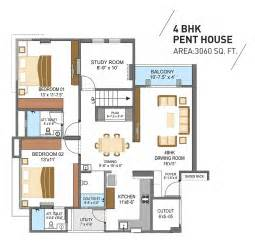 Three Bedroom House Plan pent 2 z jpg