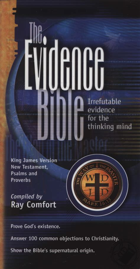 ray comfort evidence bible new testament psalms proverbs pocket evidence bible by